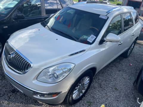 2012 Buick Enclave for sale at Trocci's Auto Sales in West Pittsburg PA