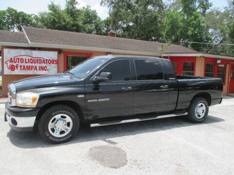 2006 Dodge Ram Pickup 2500 for sale at Auto Liquidators of Tampa in Tampa FL
