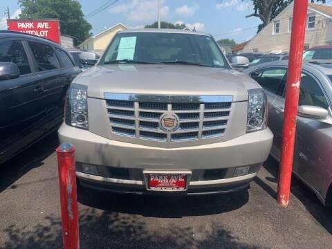 2008 Cadillac Escalade for sale at Park Avenue Auto Lot Inc in Linden NJ