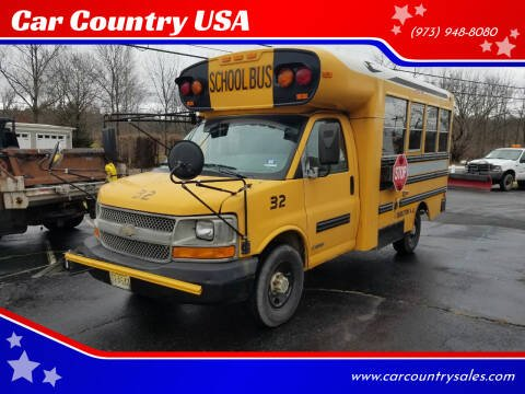 2005 Chevrolet Express Cutaway Bus for sale at Car Country USA in Augusta NJ