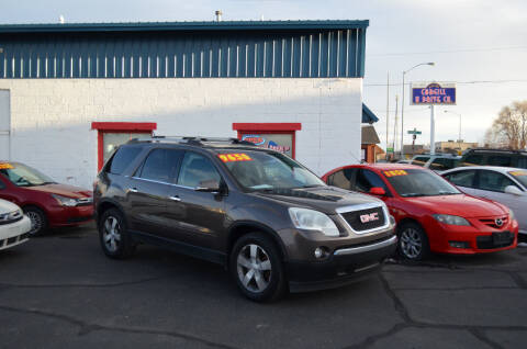 2011 GMC Acadia for sale at CARGILL U DRIVE USED CARS in Twin Falls ID