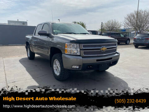 2013 Chevrolet Silverado 1500 for sale at High Desert Auto Wholesale in Albuquerque NM