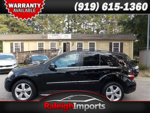 2011 Mercedes-Benz M-Class for sale at Raleigh Imports in Raleigh NC