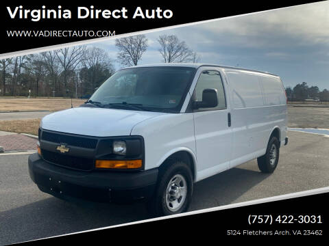 2014 Chevrolet Express Cargo for sale at Virginia Direct Auto in Virginia Beach VA