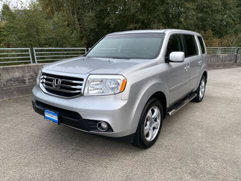 2012 Honda Pilot for sale at Zipstar Auto Sales in Lynnwood WA