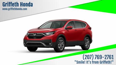 2021 Honda CR-V for sale at Griffeth Honda in Presque Isle ME