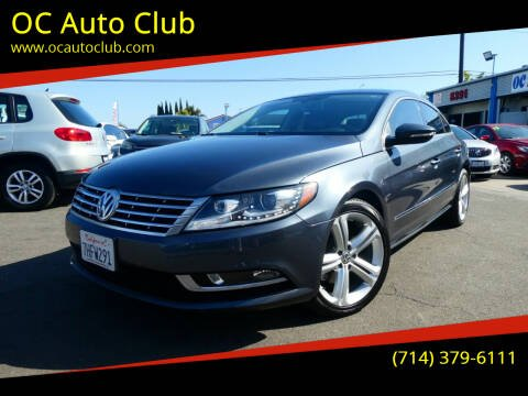 2013 Volkswagen CC for sale at OC Auto Club in Midway City CA