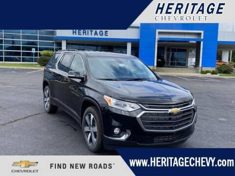 2020 Chevrolet Traverse for sale at HERITAGE CHEVROLET INC in Creek MI