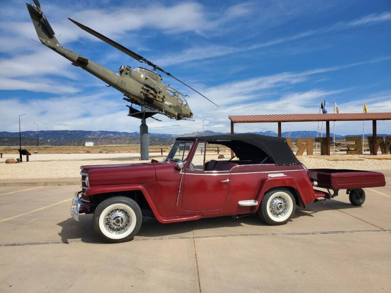 1951 Willys Jeepster for sale at Pikes Peak Motor Co in Penrose CO
