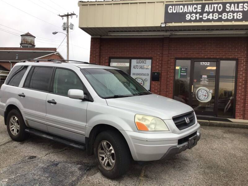 2003 Honda Pilot for sale at Guidance Auto Sales LLC in Columbia TN