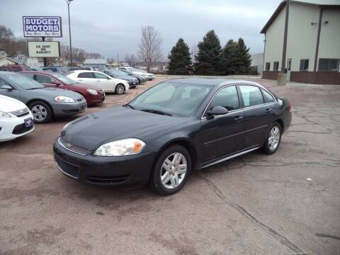 2013 Chevrolet Impala for sale at Budget Motors - Budget Acceptance in Sioux City IA