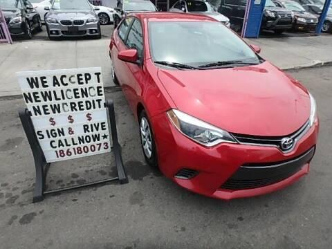 2016 Toyota Corolla for sale at Cedano Auto Mall Inc in Bronx NY