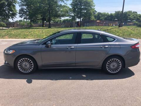 2013 Ford Fusion for sale at Ron's Auto Sales (DBA Paul's Trading Station) in Mount Juliet TN