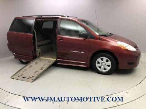 2010 Toyota Sienna for sale at J & M Automotive in Naugatuck CT