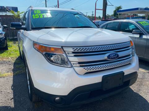 2015 Ford Explorer for sale at GRAND USED CARS  INC in Little Ferry NJ