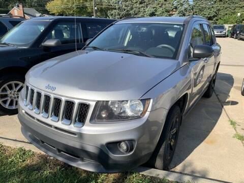 2016 Jeep Compass for sale at Martell Auto Sales Inc in Warren MI
