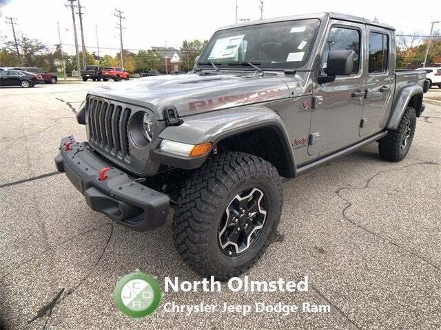 2021 Jeep Gladiator 4x4 Rubicon 4dr Crew Cab 5.0 ft. SB - North Olmsted OH