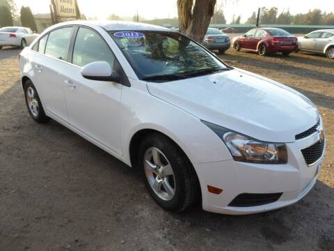 2013 Chevrolet Cruze for sale at VALLEY MOTORS in Kalispell MT