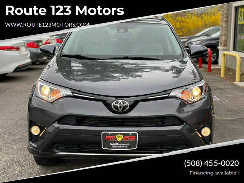 2018 Toyota RAV4 for sale at Route 123 Motors in Norton MA