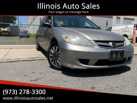 2005 Honda Civic for sale at Illinois Auto Sales in Paterson NJ
