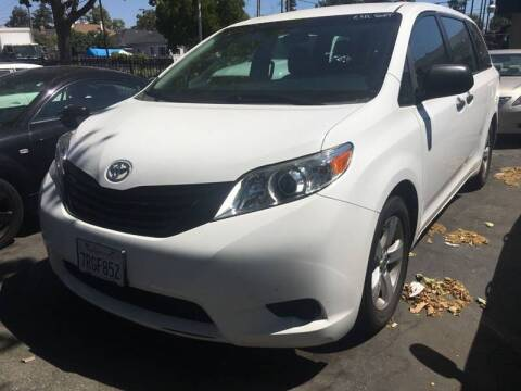 2016 Toyota Sienna for sale at MK Auto Wholesale in San Jose CA