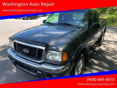 2005 Ford Ranger for sale at Washington Auto Repair in Washington NJ
