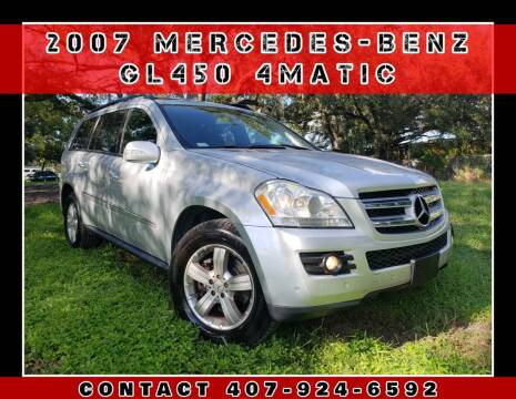 2007 Mercedes-Benz GL-Class for sale at AFFORDABLE ONE LLC in Orlando FL
