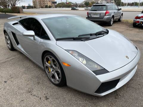 2004 Lamborghini Gallardo for sale at Austin Direct Auto Sales in Austin TX