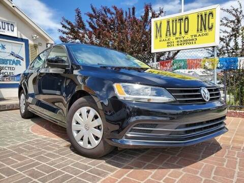 2015 Volkswagen Jetta for sale at M AUTO, INC in Millcreek UT