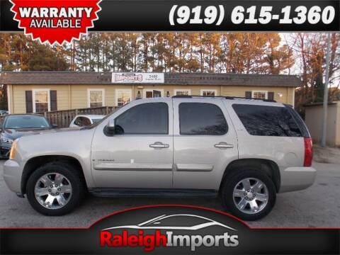 2007 GMC Yukon for sale at Raleigh Imports in Raleigh NC