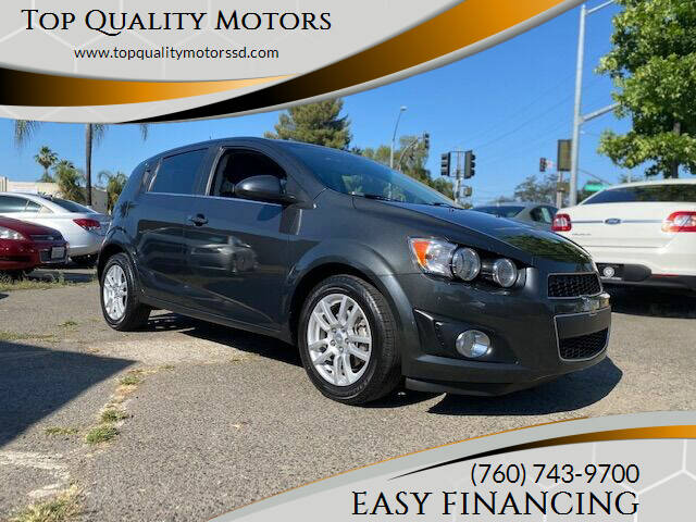 2014 Chevrolet Sonic for sale at Top Quality Motors in Escondido CA