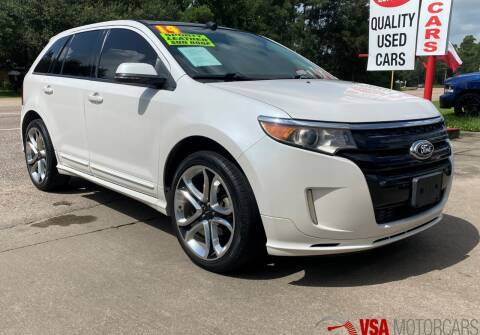 2014 Ford Edge for sale at VSA MotorCars in Cypress TX