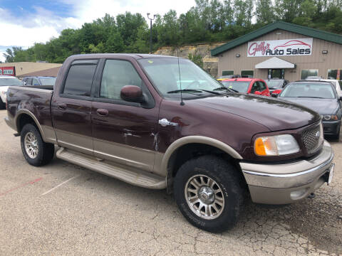 2001 Ford F-150 for sale at Gilly's Auto Sales in Rochester MN