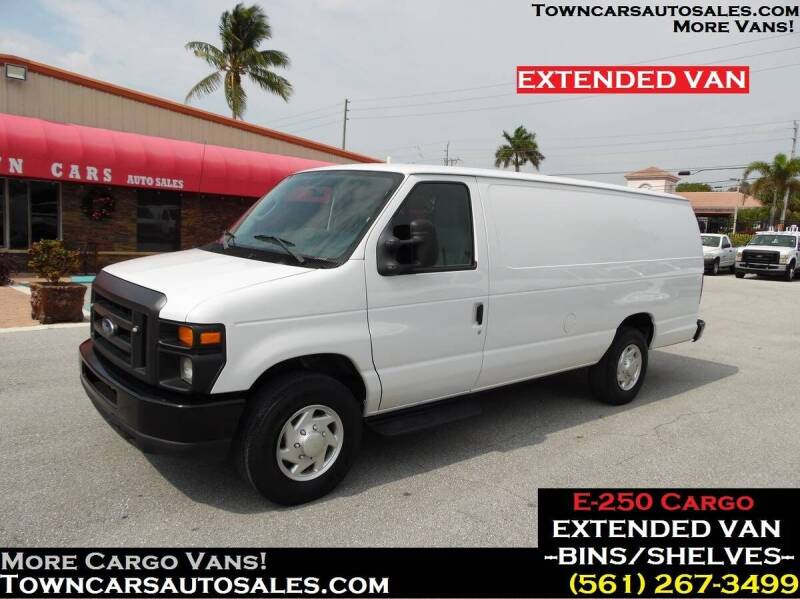 2012 Ford E-250 for sale at Town Cars Auto Sales in West Palm Beach FL