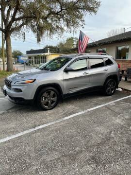 2016 Jeep Cherokee for sale at IMAGINE CARS and MOTORCYCLES in Orlando FL