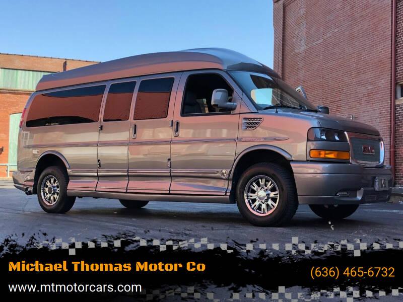 2012 GMC Savana Cargo for sale at Michael Thomas Motor Co in Saint Charles MO