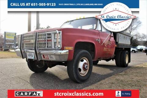 1985 Chevrolet C/K 30 Series for sale at St. Croix Classics in Lakeland MN
