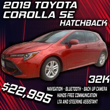 2019 Toyota Corolla Hatchback for sale at Badlands Brokers in Rapid City SD