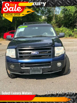 2010 Ford Expedition for sale at Select Luxury Motors in Cumming GA
