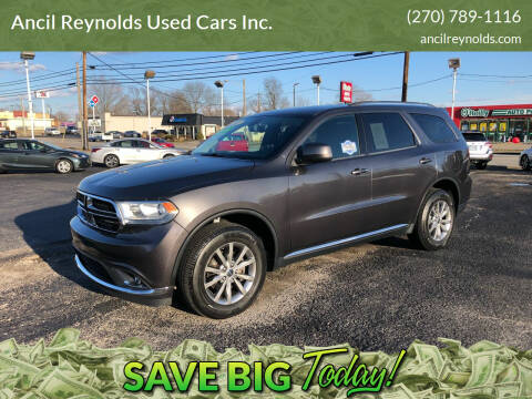 2017 Dodge Durango for sale at Ancil Reynolds Used Cars Inc. in Campbellsville KY