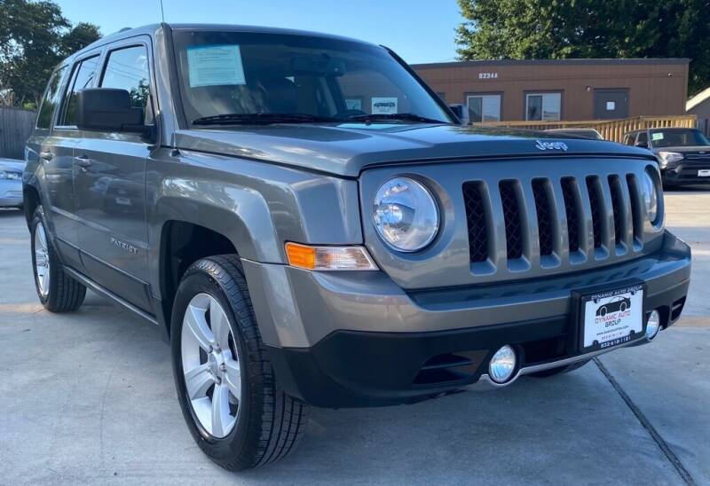 2013 Jeep Patriot for sale at DYNAMIC AUTO GROUP in Houston TX