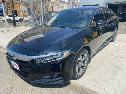 2018 Honda Accord for sale at DEALS ON WHEELS in Newark NJ