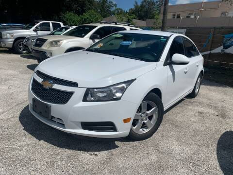 2014 Chevrolet Cruze for sale at Blue Ocean Auto Sales LLC in Tampa FL