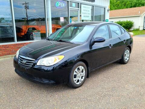 2010 Hyundai Elantra for sale at Green Cars Vermont in Montpelier VT