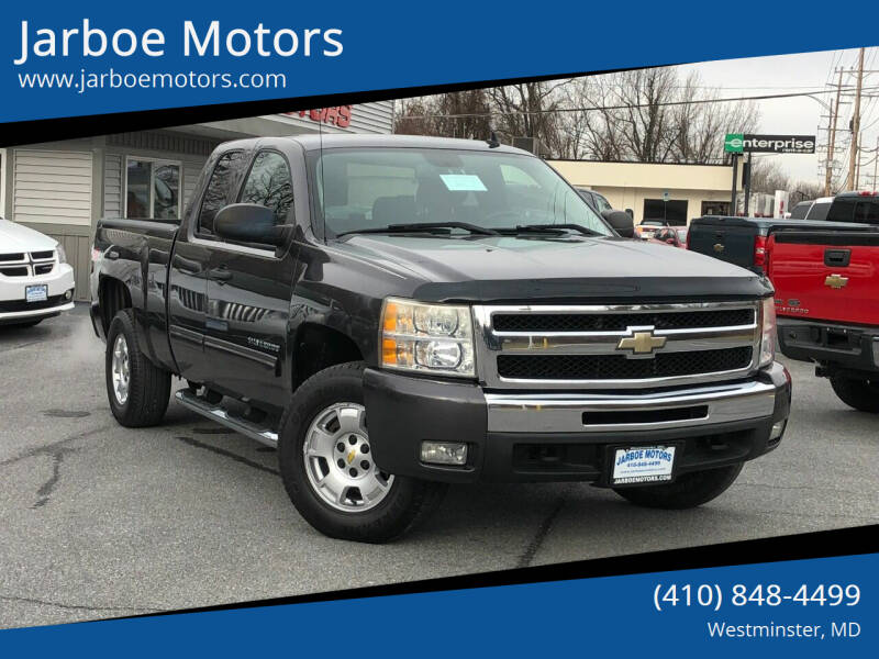 2010 Chevrolet Silverado 1500 for sale at Jarboe Motors in Westminster MD