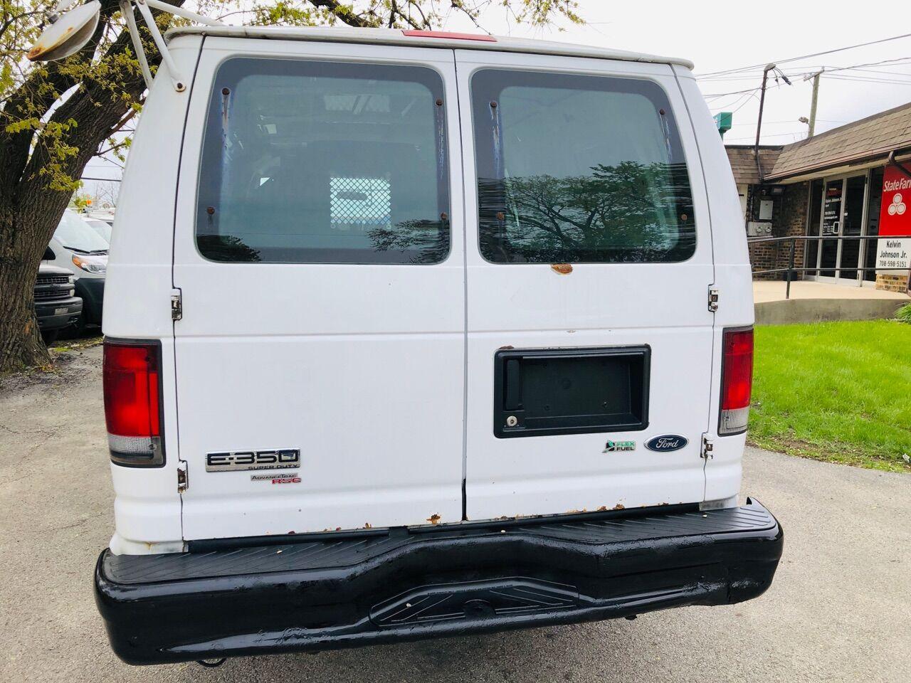 White 2013 FORD E-SERIES CARGO for sale in Bridgeview, IL Photo 5