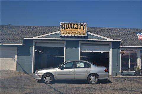 2002 Chevrolet Malibu for sale at Quality Pre-Owned Automotive in Cuba MO