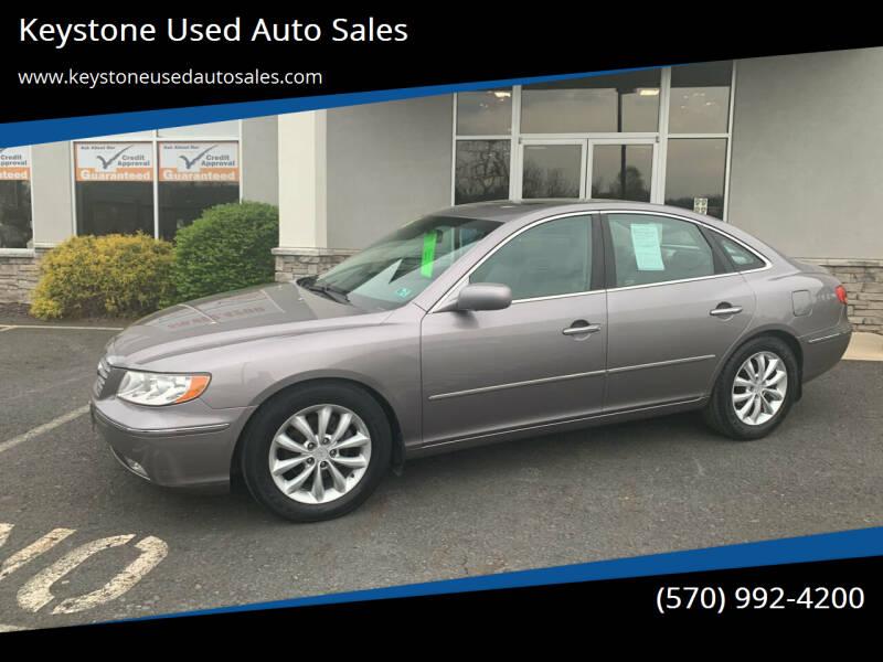 2006 Hyundai Azera for sale at Keystone Used Auto Sales in Brodheadsville PA
