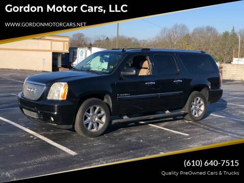 2008 GMC Yukon XL for sale at Gordon Motor Cars, LLC in Frazer PA