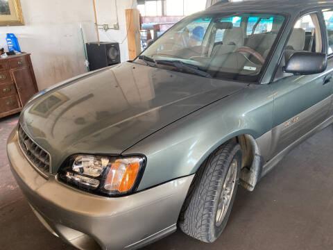 2003 Subaru Outback for sale at PYRAMID MOTORS - Pueblo Lot in Pueblo CO